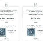 Medal Hania i Piotr 700